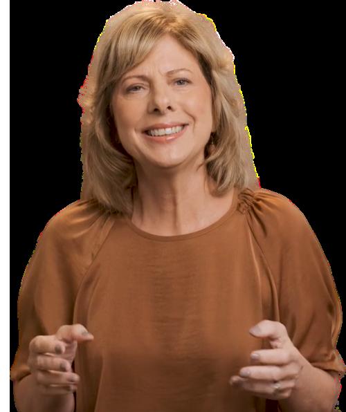 Presenter Penny Milner-Smyth